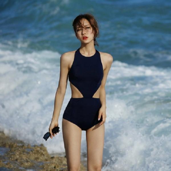 梨卡 - 黑色性感顯瘦火辣後挖洞露背露腰提臀連身泳衣泳裝比基尼CR264 黑色,性感,顯瘦,火辣,後挖洞,露背,露腰,提臀,連身,泳衣,泳裝,比基尼