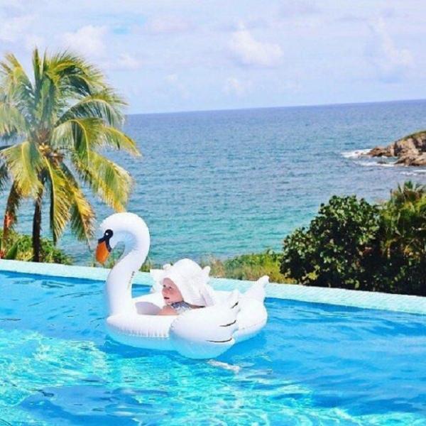 梨卡 - 可愛兒童嬰兒寶寶白天鵝安全充氣游泳圈浮圈另售大人款M086 可愛兒童,嬰兒,寶寶款,白天鵝,安全,充氣,游泳圈,浮圈