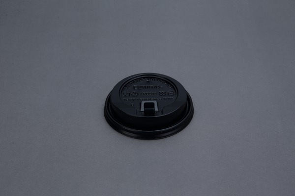 黑/白色可掀杯蓋(PP) 10/12/16/20oz 共用-黑蓋