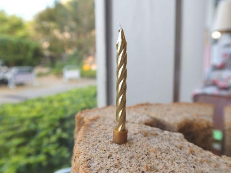 造型蠟燭 金色款