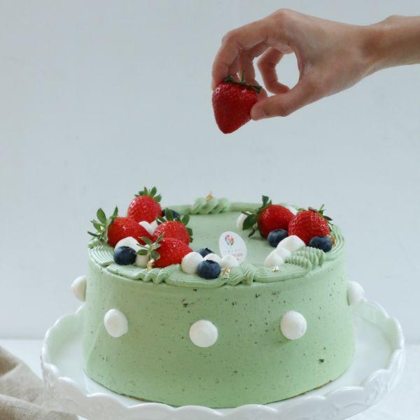Rich / 鹿兒島抹茶內餡 / 戚風蛋糕 生日蛋糕,戚風蛋糕,奶油蛋糕,台中蛋糕,台中甜點