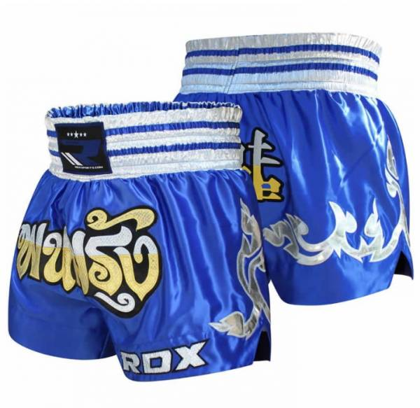 RDX FIRE SATIN MUAY THAI SHORTS 泰拳褲