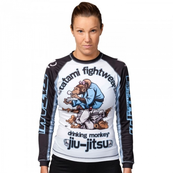 TATAMI 防磨衣 LADIES DRINKER MONKEY RASH GUARD