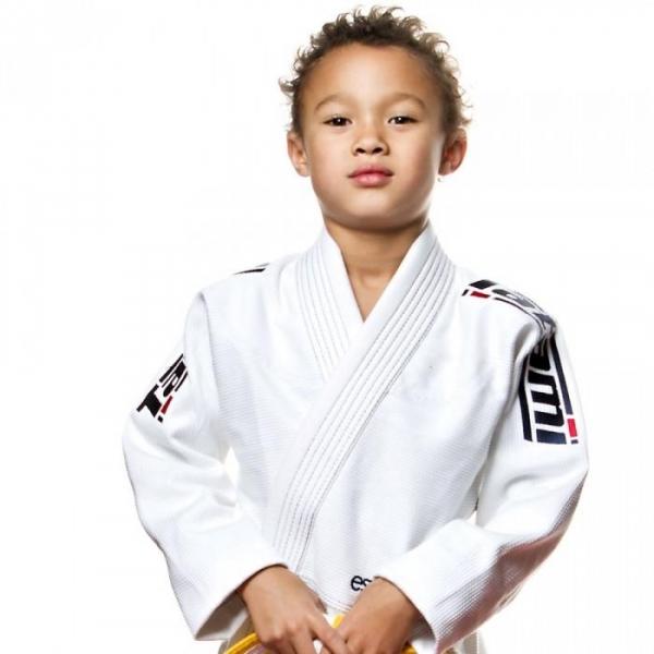 TATAMI 兒童巴柔服 - 白 Kids Estilo 5.0 Premier BJJ GI-WHITE