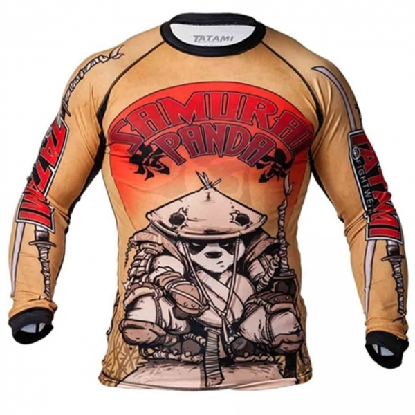 TATAMI 防磨衣 SAMURAI PANDA RASH GUARD