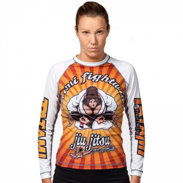 TATAMI 防磨衣 LADIES ZEN GORILLA RASH GUARD