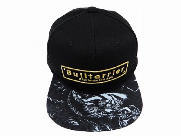 BULL TERRIER Cap MUSHIN Black [bj-928] 無心帽