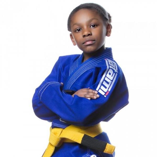 TATAMI 兒童巴柔服 - 藍 Kids Estilo 5.0 Premier BJJ GI-BLUE