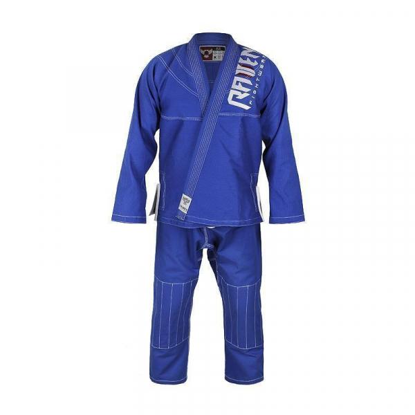 RAVEN 巴西柔術服 兒童款 藍