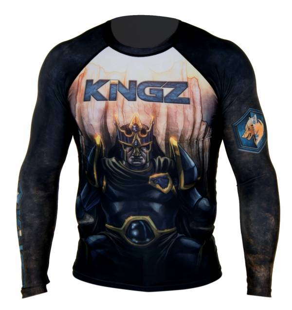 KNGZ—HOUSE OF STONE RASH GUARD 防磨衣
