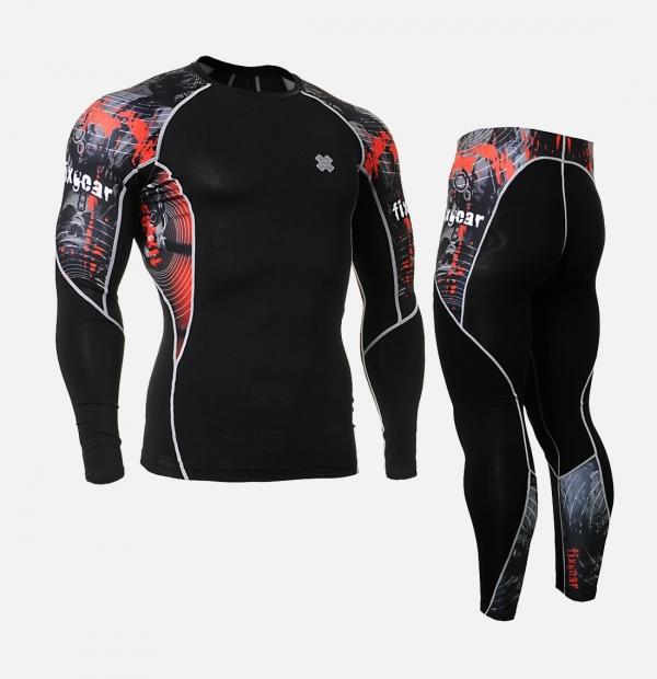 FIXGEAR C2L-P2L-B30 SET 壓力衣褲全套組