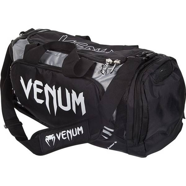 Venum Trainer Lite Sport Bag - Black/Grey 側背包