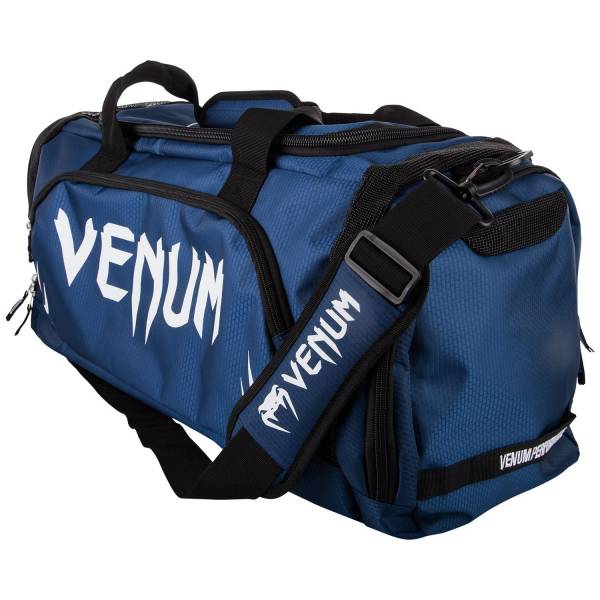 Venum Trainer Lite Sport Bag - Navy Blue/White 側背包