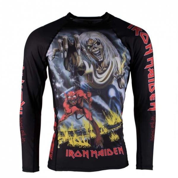 TATAMI X IRON MAIDEN NUMBER OF THE BEAST RASH GUARD 防磨衣