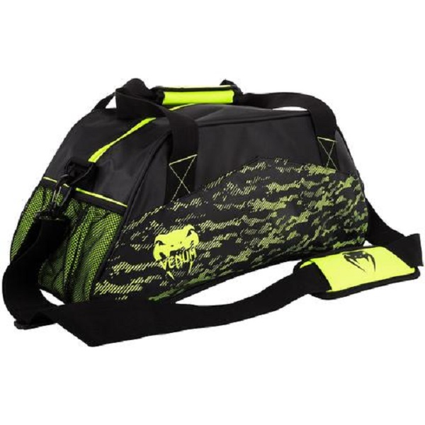VENUM CAMOLINE SPORT BAG-BLACK/NEO YELLOW 側背包