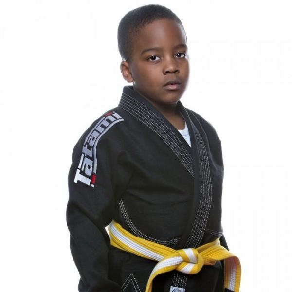 TATAMI 兒童巴柔服 - 黑 Kids Estilo 5.0 Premier BJJ GI-BLACK