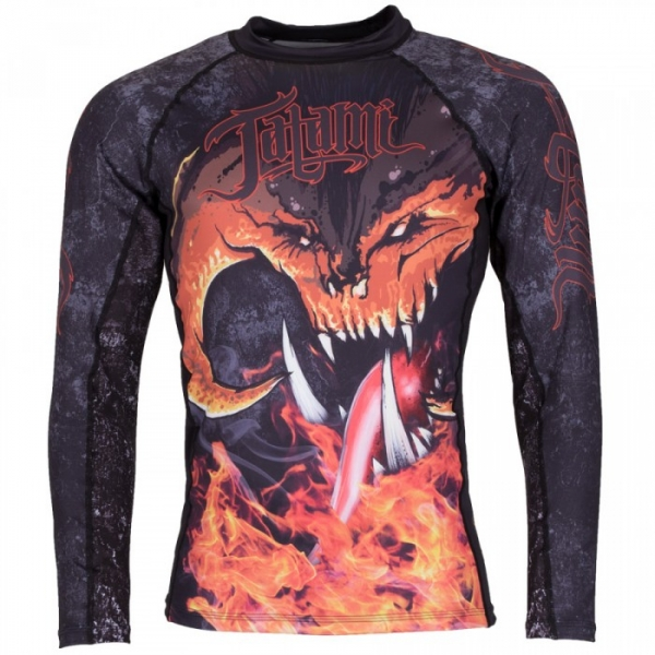 TATAMI 炎魔 防磨衣 BALROG RASH GUARD