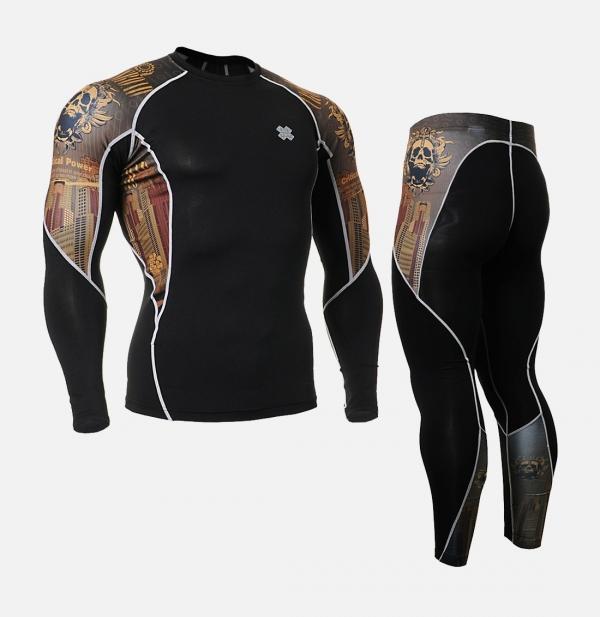 FIXGEAR C2L-P2L-B27 SET 壓力衣褲全套組