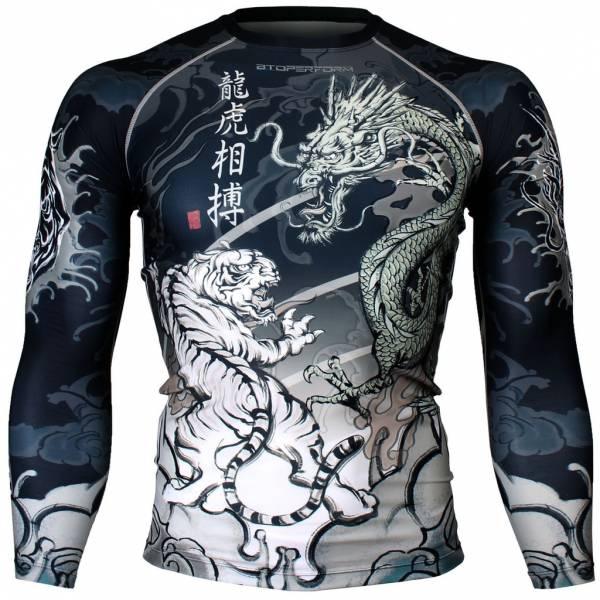 DRAGON VS TIGER [FX-136] 長袖壓力服