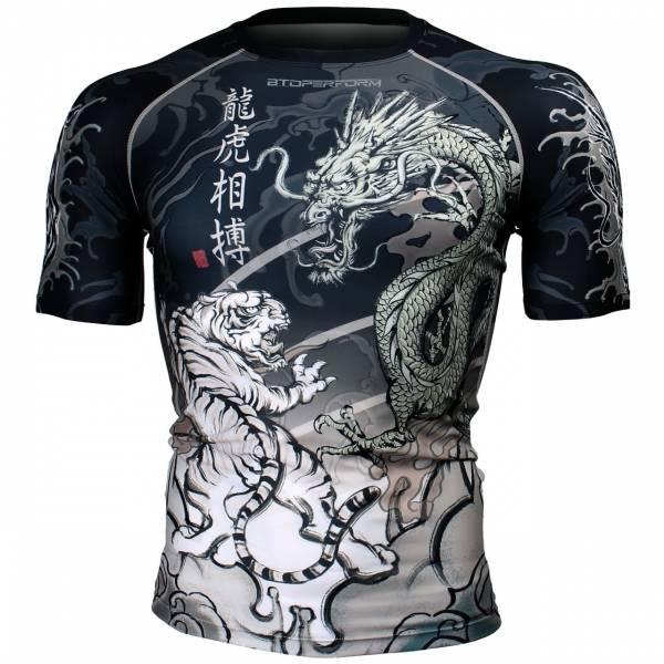 龍虎相搏 [FX-336] 短袖壓力服