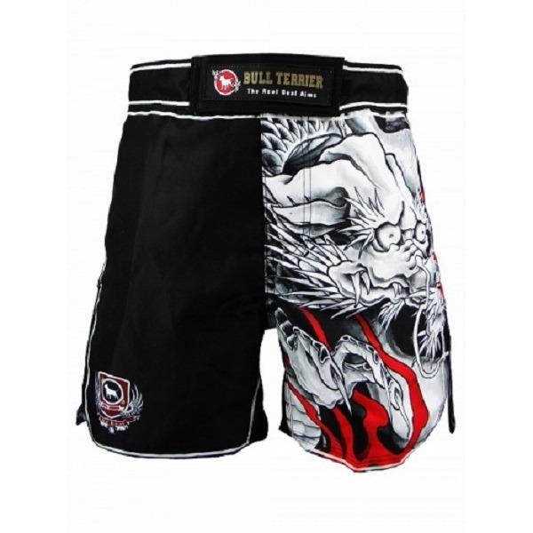 BULL TERRIER 無心 格鬥短褲 Fight Shorts MUSHIN 3/4 3.0 Black