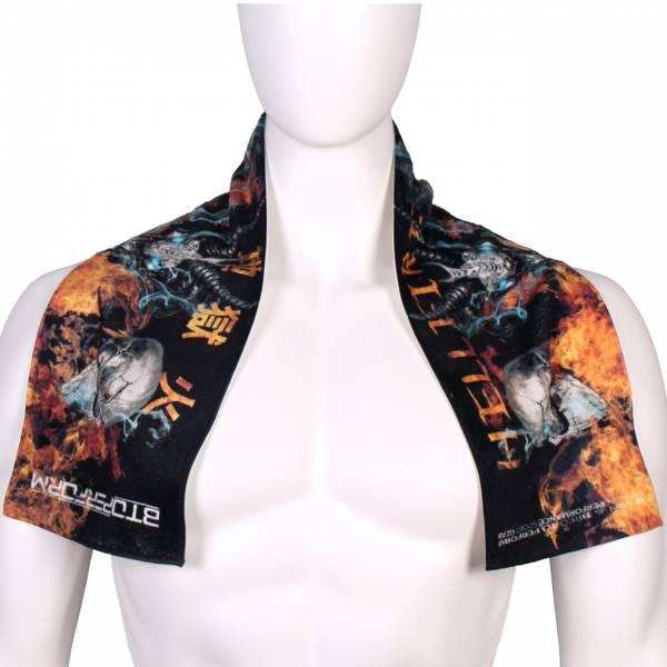 地獄火 [ST-120] 超細纖維運動毛巾 (M)