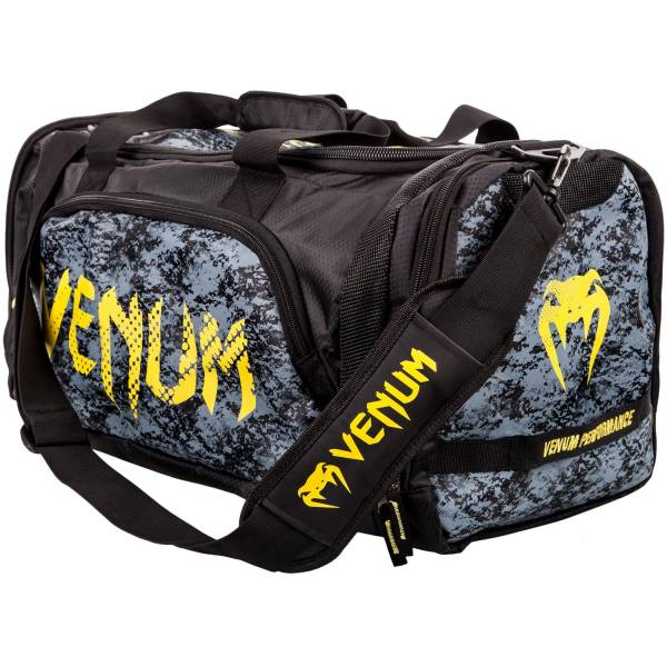 VENUM TRAMO SPORT BAG - BLACK/YELLOW 側背袋