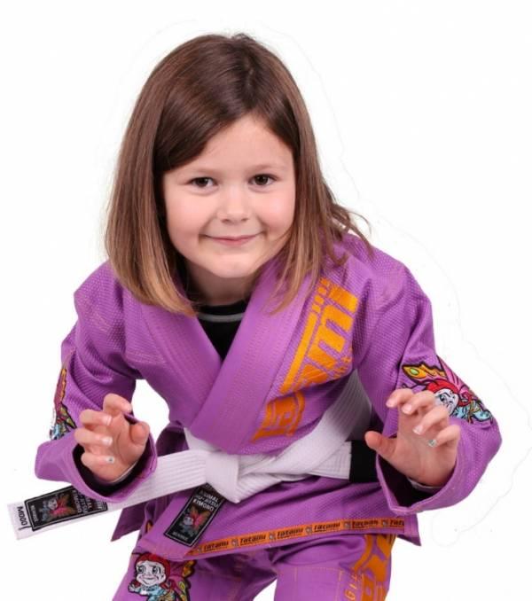 TATAMI 兒童動物巴西柔術服 紫
