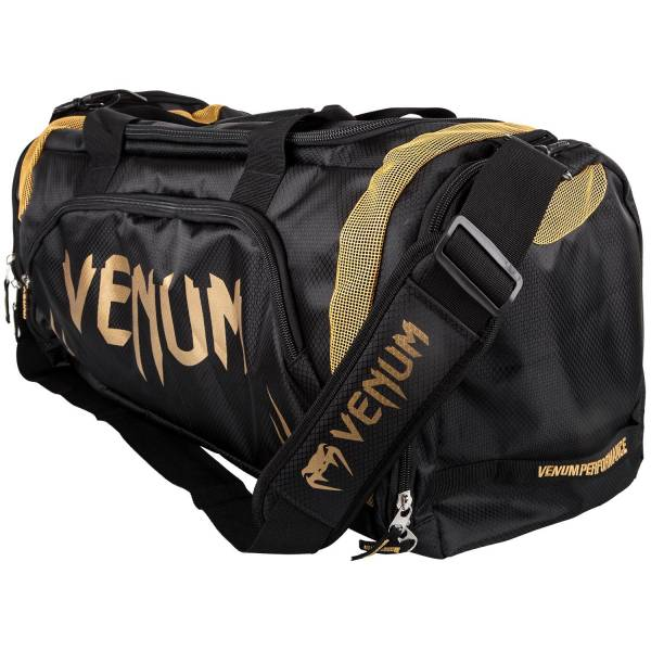 Venum Trainer Lite Sport Bag - Black/Gold 側背包