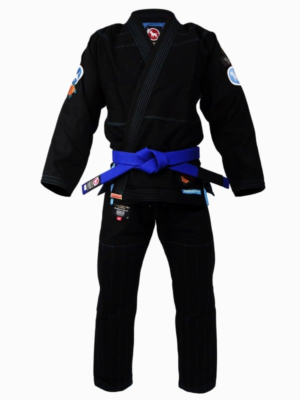 BULL TERRIER Jiu Jitsu Gi KARAJISHI Black 巴西柔術服