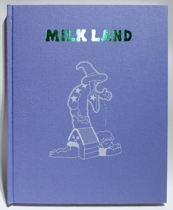 MILK LAND ancco,復古可愛,risograph