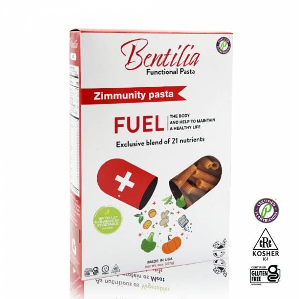 【BENTILIA】美國原裝進口綜合蔬活筆管麵1盒 (227公克) BENTILIA,紅扁豆,義大利筆管麵