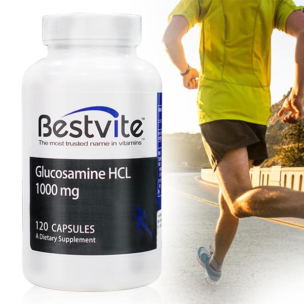 【美國BestVite】必賜力葡萄糖胺膠囊1瓶 (120顆) 葡萄糖胺,BestVite,必賜力,保健食品