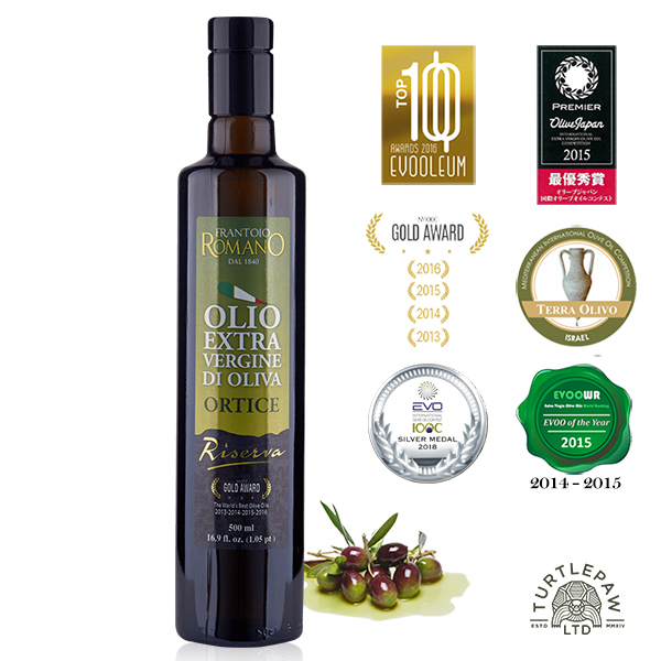 【 義大利Romano】羅蔓諾Ortice特級初榨橄欖油(500ml) Romano,羅蔓諾,Ortice,初榨橄欖油,橄欖油,食用油,油