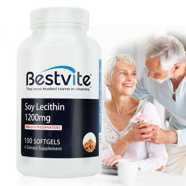 【美國BestVite】必賜力高濃縮卵磷脂膠囊1瓶(100顆) 高濃縮卵磷脂,BestVite,必賜力,保健食品