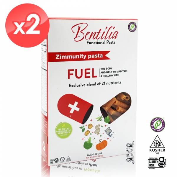 【BENTILIA】美國原裝進口綜合蔬活筆管麵2盒 (227公克*2) BENTILIA,紅扁豆,義大利筆管麵