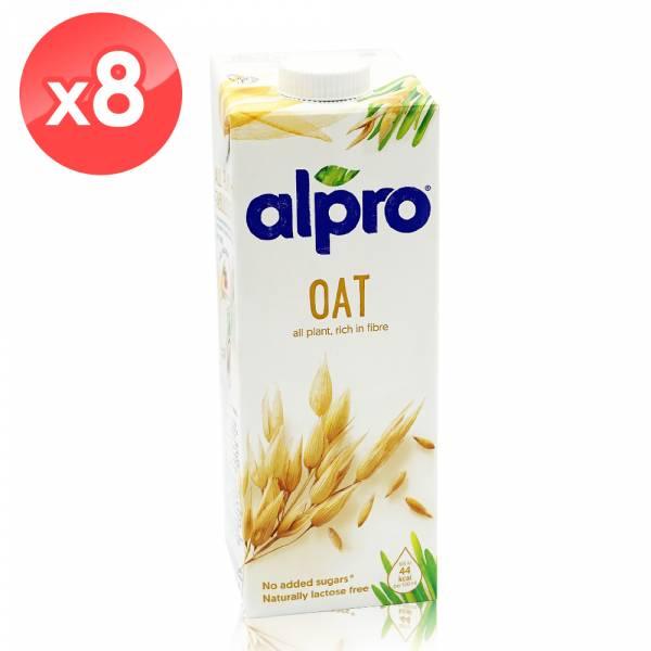 【ALPRO】原味燕麥飲品(1公升*8瓶組) 堅果奶,植物奶,飲品,燕麥奶
