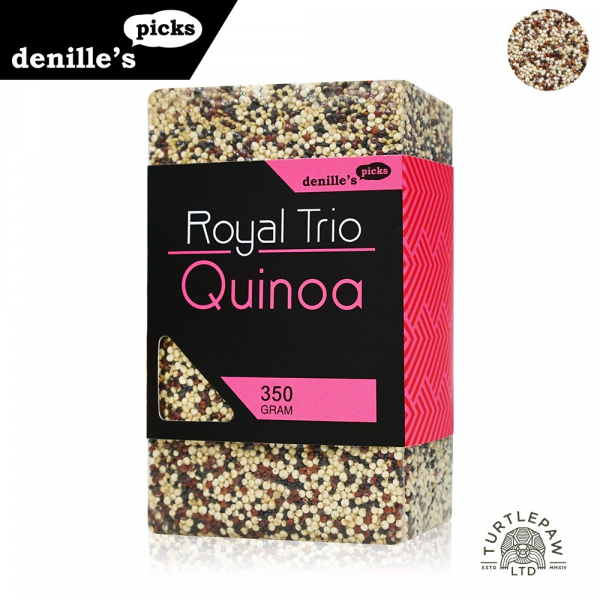 【Denille's Picks】三色藜麥QUINOA1包 (350公克) Denille's Picks,藜麥,QUINOA