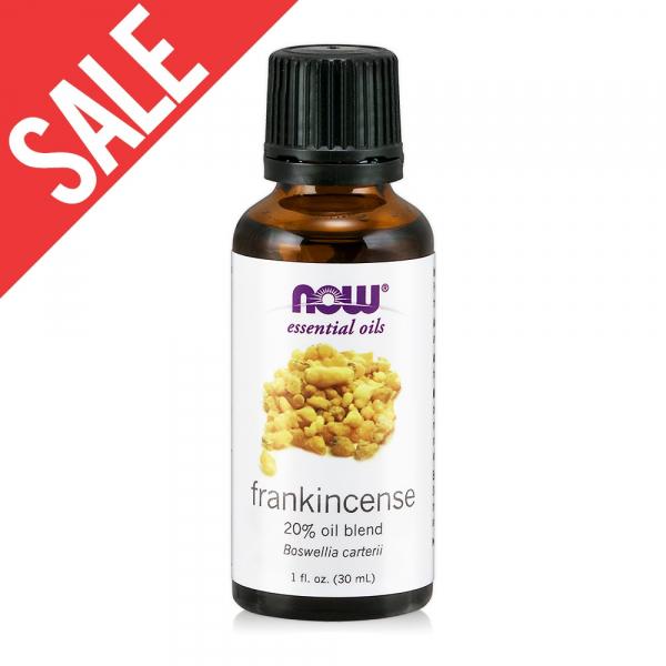 限時【NOW】乳香20%調和精油(30ml) Frankincense Oil Blend 乳香,功效,提神,保養,放鬆,壓力,按摩,緊張,抗菌,舒緩,now,精油