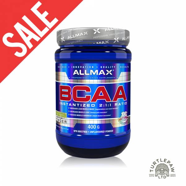 【加拿大Allmax】奧美仕BCAA支鏈胺基酸粉末 (400公克) 效期至2021/4 支鏈胺基酸,BCAA,ALLMAX,奧美仕,巧克力