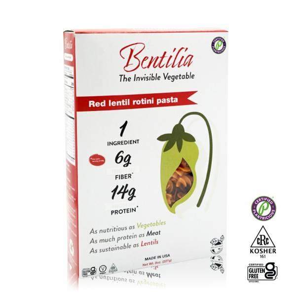 【BENTILIA】美國紅扁豆義大利螺旋麵1包 (225公克) 原裝進口 BENTILIA,紅扁豆,義大利螺旋麵