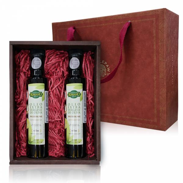 Romano羅蔓諾特級初榨橄欖油禮盒-250ml 禮盒組,橄欖油