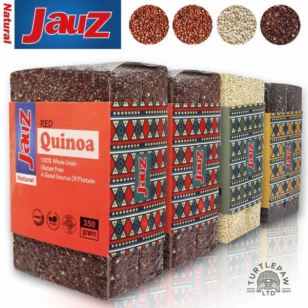 【JAUZ喬斯】紅藜麥2+白藜麥+黑藜麥QUINOA (350公克*4包) JAUZ,喬斯,藜麥,QUINOA,