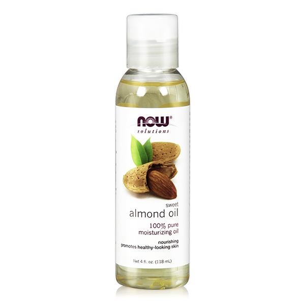 【NOW】甜杏仁油(4 oz / 118 ml) Sweet Almond Oil now,基底油,基礎油,按摩油,甜杏仁