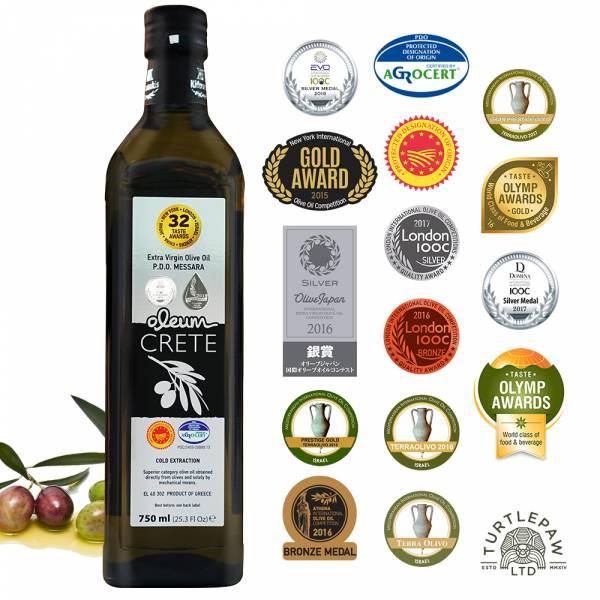 【Oleum Crete】奧莉恩頂級初榨橄欖油(750ml) Oleum Crete,奧莉恩,初榨橄欖油,橄欖油,食用油,油