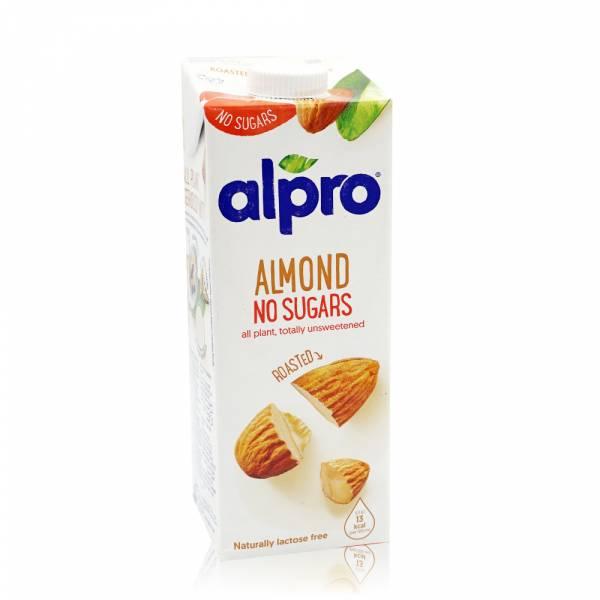 【ALPRO】無糖杏仁飲品(1公升)  無糖,堅果奶,植物奶,飲品,杏仁奶