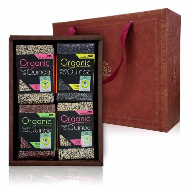 藜上往來禮盒-有機藜麥 禮盒組,橄欖油