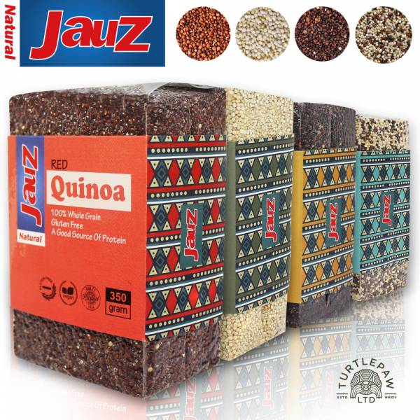 【JAUZ喬斯】紅藜麥+白藜麥+黑藜麥+三色藜麥QUINOA (350公克*4包) JAUZ,喬斯,藜麥,QUINOA,