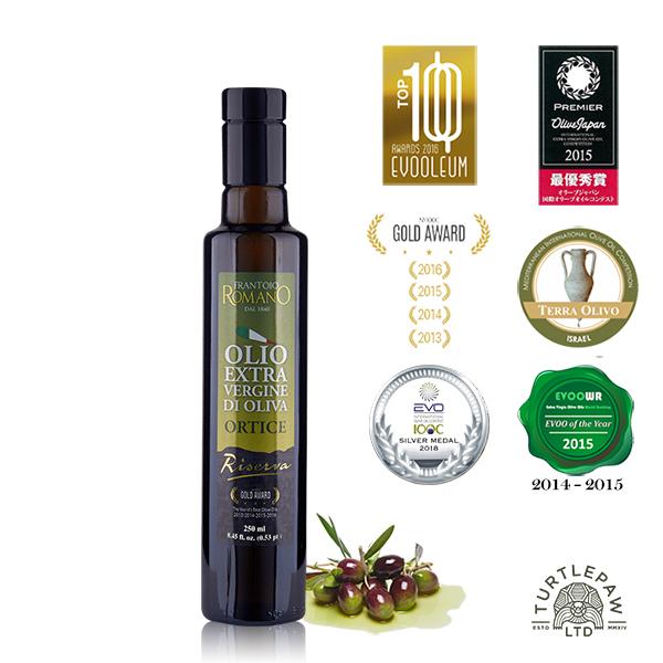【 義大利Romano】羅蔓諾Ortice特級初榨橄欖油(250ml) Romano,羅蔓諾,Ortice,初榨橄欖油,橄欖油,食用油,油