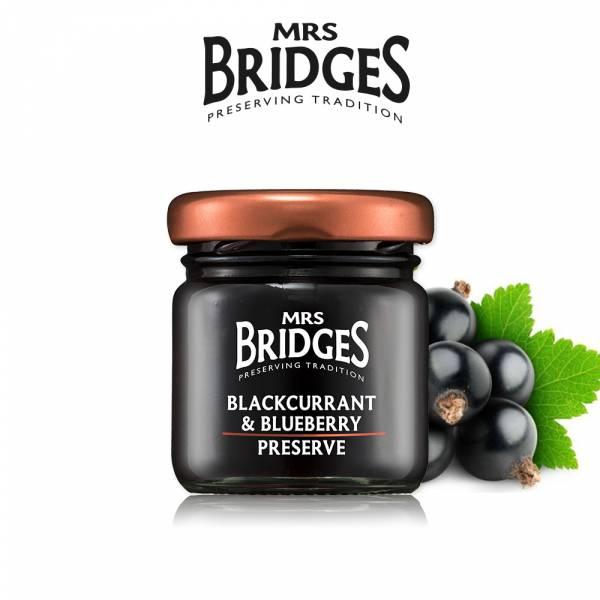 贈-【MRS. BRIDGES】英橋夫人黑加侖藍莓果醬 (42公克) 效期至2021/12  MRS. BRIDGES,英橋夫人,黑加侖藍莓,果醬